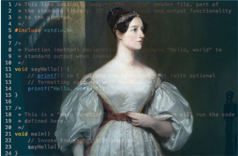 Ада Лавлейс (1815-1852г.г.)
