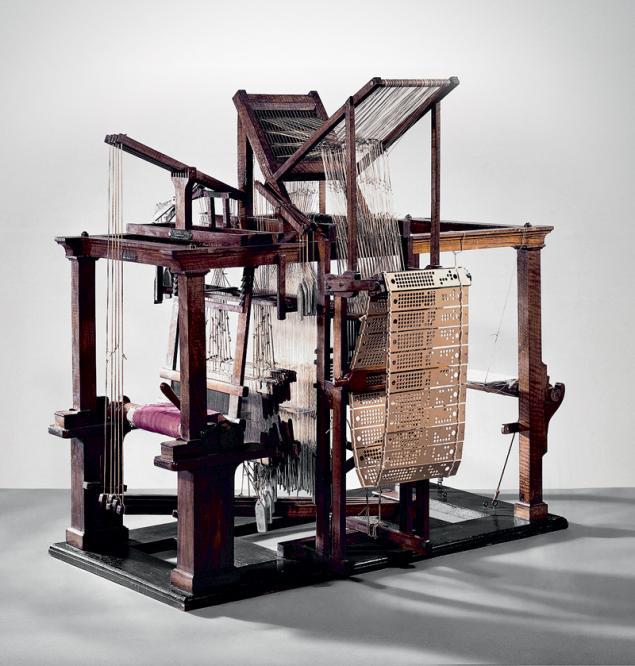 Ткацкий станок Жаккара для узорчатых материй